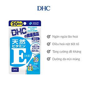 Viên uống DHC Bổ Sung Vitamin E Nhật Bản
