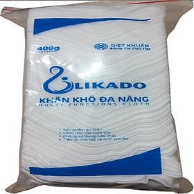 Combo 3 bịch khăn vải đa năng likado 400g (kích thước 15 x20)-1