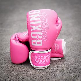Găng tay Boxing Saigon Inspire - Pink