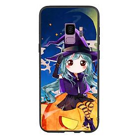 Hình đại diện sản phẩm Ốp lưng Halloween viền TPU cho điện thoại Samsung Galaxy S9 - Mẫu 04