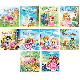 Bộ sách hay dành cho trẻ em từ 3-9 tuổi:  Combo 10 Quyển Ngày Xửa Ngày Xưa - Chuyện Kể Cho Bé Trước Giờ Đi Ngủ