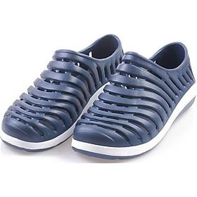 Giày lười nhựa dẻo nam LAHstore, chất liệu nhựa dẻo mềm mại, thích hợp đi biển đi chơi du lịch, thời trang phong cách trẻ