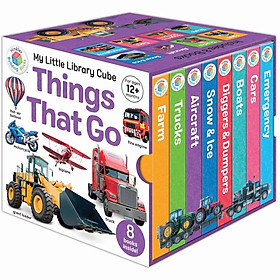 My Little Library Cube: Things That Go