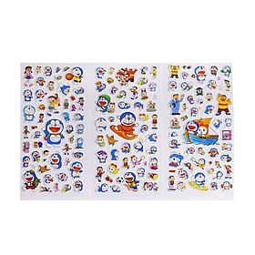 Set 3 Sticker Dán Trang Trí Hoạt Hình Doraemon