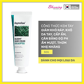 Kem Dưỡng Da Tay Giữ Ẩm, Chống Lão Hóa Daymellow Bloomy Hand Cream 50ml