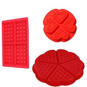 Creative Silicone Waffle Muffin Mold Cake Mold Diy Baking Tools Waffle Mould