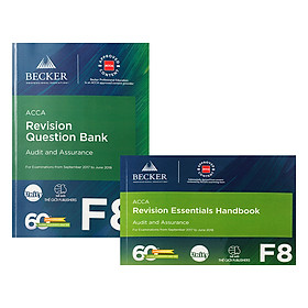 Combo Sách ACCA F8 Revision Question Bank Và Revision Essential Handbook