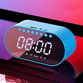 Loa bluetooth 3 trong 1 đồng hồ báo thức, FM, gương, loa âm thanh siêu hay, bass trầm ấm, pin trâu S1 Siêu Chất- Hàng chính hãng