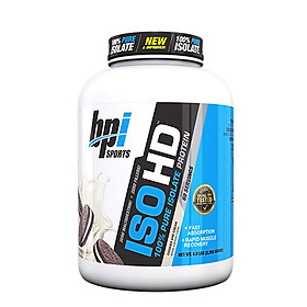 Sữa tăng cơ BPI Iso-HD 100% Pure Isolate Protein 2.2kg