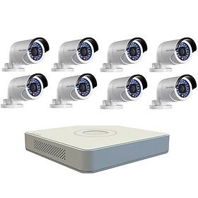 Bộ Camera Quan Sát Hikvision 8 Kênh 2.0MP Full HD - Hàng Chính Hãng