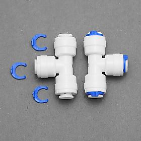 Bộ 02 Tê chia ba đầu dây nối nhanh dùng trong máy lọc nước – hàng chính hãng
