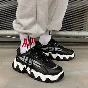Giày sneaker nam tăng 5cm chiều cao Full Phản Quang chất ngất, giày độn đế thoáng khí, phong cách thời trang  Hàn Quốc