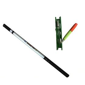 COMBO 1 cần câu tay cacbon 2m7/3m6/4m5/5m4 DoubleFish và 1bộ phao chì cước lưỡi, cần tay câu cá 5h siêu nhẹ và siêu cứng, can tay cau ca carbon