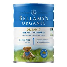 Sữa Bột Bellamy's Organic Số 1 (900g)-0
