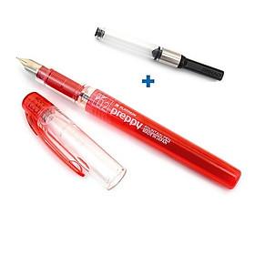 Combo bút máy Preppy Platinum Nhật Bản cỡ 02 ( nét mảnh ) và piston bơm mực