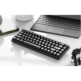 Bàn phím cơ mini chơi game Royal Kludge RK837 RGB cơ học 68 Phím Chế độ kép Bluetooth không dây 5.1 Type-C có đèn nền RGB - Hàng chính hãng