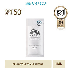 Gel chống nắng dưỡng trắng Anessa 4ml