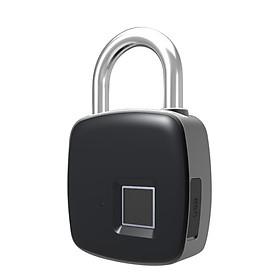 Ổ khóa thông minh cảm biến vân tay 1 chạm, lưu tối đa 10 dấu vân tay PA88