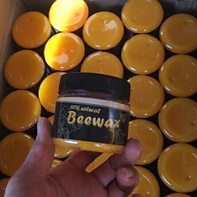 Sáp ong đánh bóng đồ gỗ Beewax tặng kèm 1 khăn lau đa năng