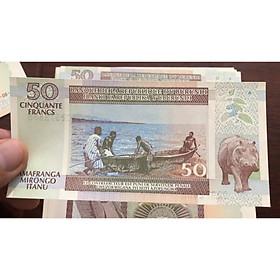 Tiền cổ Burundi 50 Francs, quốc gia Đông Phi nghèo nhất thế giới