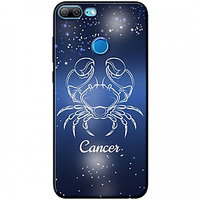 Ốp lưng  dành cho Honor 9 Lite mẫu Cung hoàng đạo Cancer (xanh)