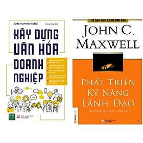 Combo 2 Cuốn: Phát Triển Kỹ Năng Lãnh Đạo + Xây Dựng Văn Hóa Doanh Nghiệp