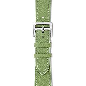 Dây đeo đồng hồ 22-18 MM chính hãng HANHSON SP000719 EPSOM Xanh Cốm cho Apple Watch