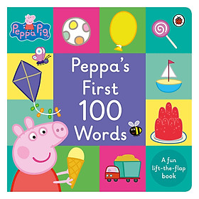 Peppa Pig: Peppa's First 100 Words - Peppa Pig (Board book)