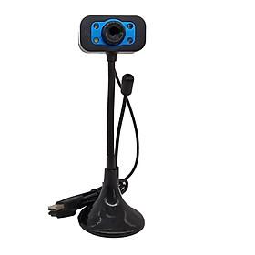 Webcam VSP 720p HD / Chân Cao / Có Mic / Có Đèn -Hàng chính hãng