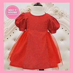 đầm bé gái  NHƯ Ý HOUSE'S-  váy trẻ em hàng thiết kế cho bé gái từ 0-6 tuổi