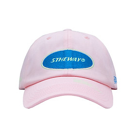 Nón Lưỡi Trai 5THEWAY Hồng aka 5THEWAY /oval/ Unstructure Washed Dad Cap in CRYSTAL ROSE