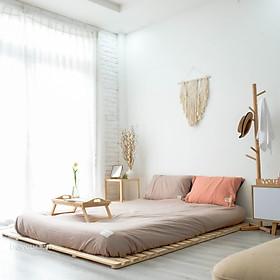 Giường ngủ Pallet gỗ thông minh Nội Thất Lắp Ráp Kiểu Hàn BEYOURs - Skinny Bed