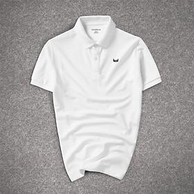 Áo Thun, Phông Nam Ngắn Tay Polo Có Cổ , Chất Vải Cá Sấu Cotton VNXK , Logo THÊU Cao Cấp Nam Tính, Phong Cách Hàn Quốc