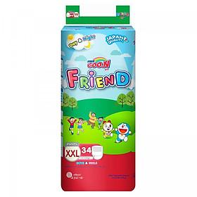 Tã Quần Goo.n Friend Gói Cực Đại XXL34 (34 Miếng)-0