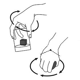 Wrist Ball Forceball Novelty LED PVC Pastime Relax Stress-6