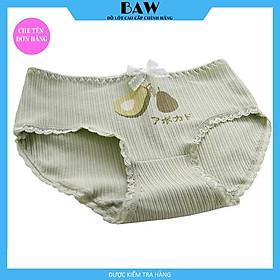 Quần Lót quả bơ cotton nữ cao cấp dễ thương đáng yêu thương hiệu BAW QLN26