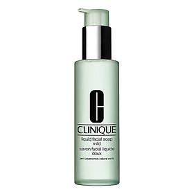 Sữa rửa mặt cho da dầu và da hỗn hợp dầu Clinique Liquid Facial Soap Oily 200ml