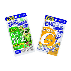 Combo Viên uống DHC Giảm Nóng Trong - Sáng Da