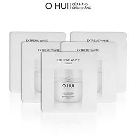 Combo 5 gói Kem dưỡng trắng OHUI Extreme White 1ml/gói Gimmick