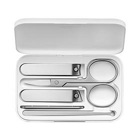 Bộ dụng cụ chăm sóc móng tay Xiaomi Mijia 5 món, thép không gỉ - Hàng Nhập Khẩu