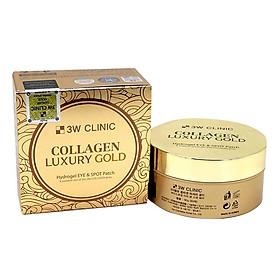 Mặt Nạ Trị Xóa Nhăn Vùng Mắt 3W Clinic Collagen Luxury Gold (90g)