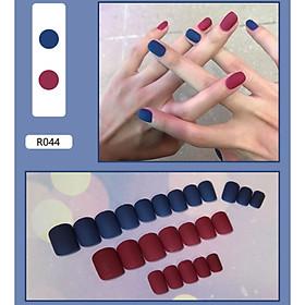 Bộ 24 móng tay giả nail thơi trang như hình (R-044)