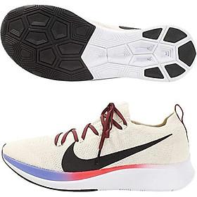 Nike Zoom Fly Flyknit Men's Running Shoe Light Cream/Black-Bright Crimson 8.5
