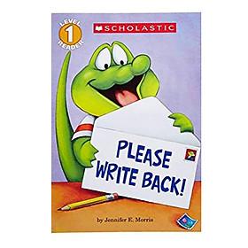 Please Write Back! (Scholastic Reader Level 1)