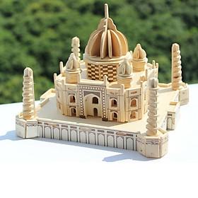 Đồ chơi lắp ráp gỗ 3D Mô hình Đền Taj Mahal Ấn Độ