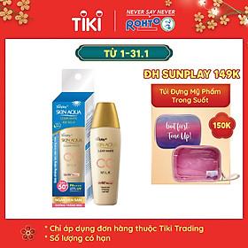 Sữa Chống Nắng Dưỡng Da Và Trang Điểm Nhẹ Sunplay Skin Aqua Clear White CC Milk SPF50+, PA++++ (25g)