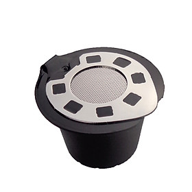 Resuable Filling Type Metal Shell Filter Cup for Nespresso Coffee Maker