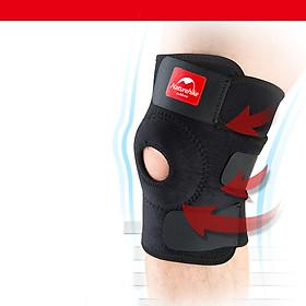 Băng bảo vệ đầu gối khớp gối Bó gối thể thao Đai bảo vệ đầu gối khớp gối Băng quấn đầu gối khớp gối Naturehike NH15A001-M hàng chính hãng dành cho cả nam và nữ