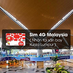 Sim 4G Malaysia (Nhận Tại Sân Bay Kuala Lumpur) Dung Lượng 5GB - Lite Plan