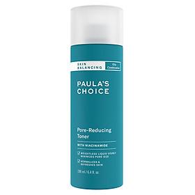 Nước Hoa Hồng Cân Bằng Và Điều Chỉnh Lỗ Chân Lông Paula's Choice Skin Balancing Pore Reducing Toner (190ml)
